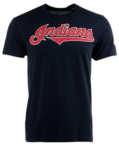 '47 Brand Men's Cleveland Indians Fieldhouse Basic T-Shirt