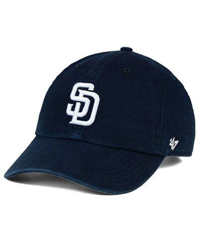 '47 Brand Boys' San Diego Padres CLEAN UP Cap