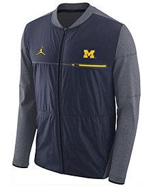 Nike Men's Michigan Wolverines Elite Hybrid Jacket