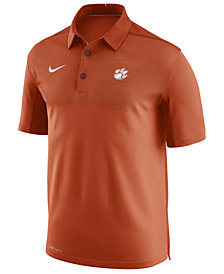 Nike Men's Clemson Tigers Elite Coaches Polo