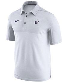 Nike Men's Washington Huskies Elite Coaches Polo