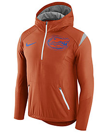 Nike Men's Florida Gators Fly-Rush Quarter-Zip Hoodie