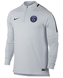 Nike Men's Paris Saint-Germain Drill Quarter-Zip Top