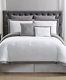 Everyday Hotel Border 7-Pc. Full/Queen Comforter Set