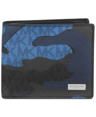 Michael Kors Men\u0027s Jet Set Camo Bifold Wallet