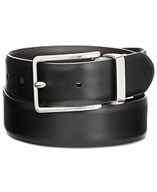 Tommy Hilfiger Men's Feather-Edge Reversible Belt