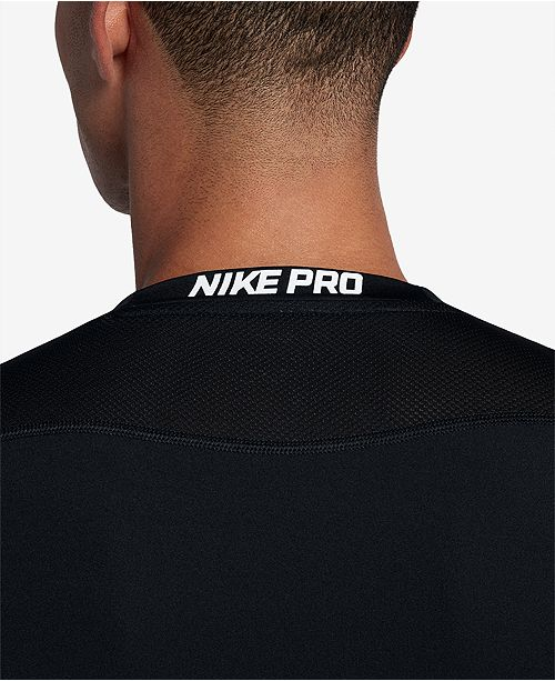 2c6b7b7f Nike Men's Pro Fitted Long Sleeve Training Shirt & Reviews - T ...