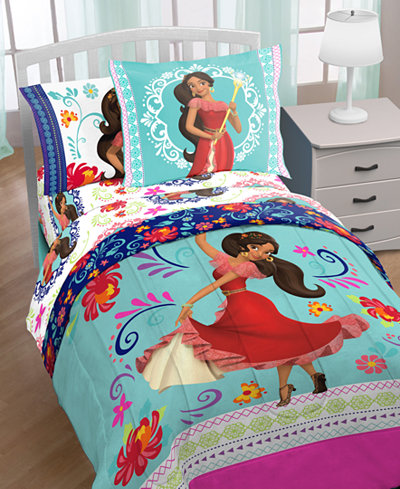 Disney s Elena of Avalor. Disney s Elena of Avalor  Dancing Script  7 Pc  Comforter Sets