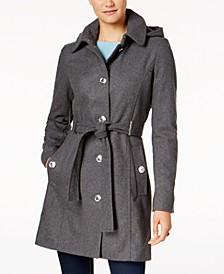 Belted Hardware Walker Coat