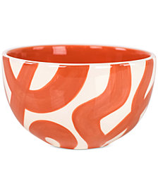Coton Colors Persimmon Loop De Loo Small Bowl