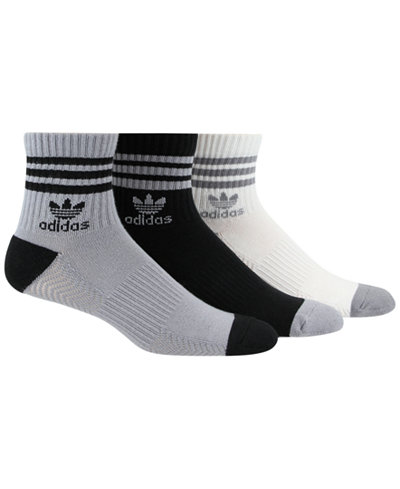 adidas Men's Originals 3-Pk. Socks