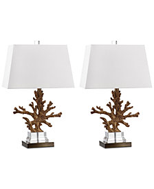 Safavieh Bashi Set of 2 Table Lamps