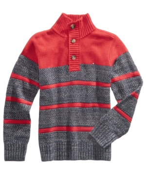 Tommy Hilfiger Vince Striped Cotton Sweater Little Boys (47)
