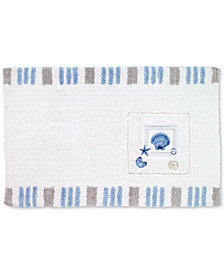 Avanti Island View Cotton Embroidered Bath Rug