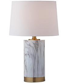 Safavieh Clarabel Marble Table Lamp