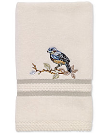 Avanti Love Nest Cotton Embroidered Fingertip Towel