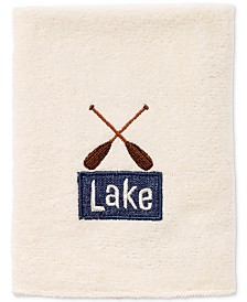 Avanti Lakeville Cotton Embroidered Washcloth