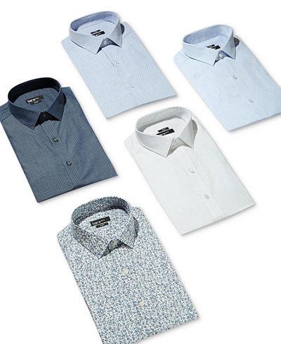 Bar III Men's Slim-Fit Stretch Dress Shirt, Created for Macy's