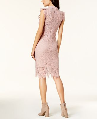 Bar Iii Lace Choker Dress Created For Macy S Dresses Women Macy S