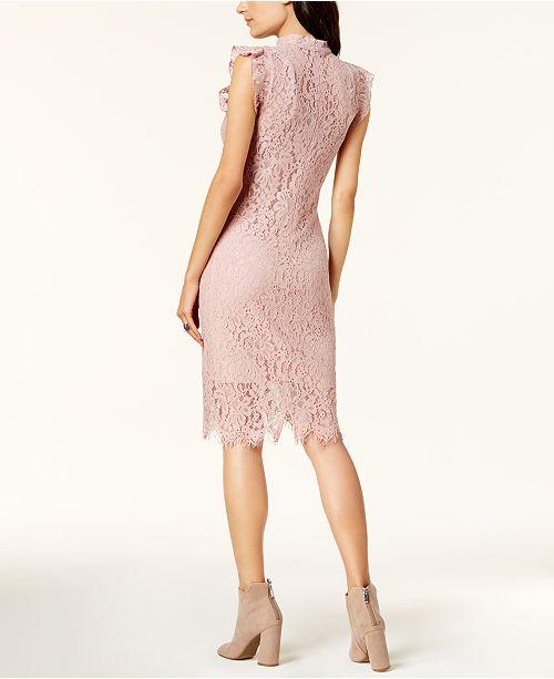 d0e6d0b496 Bar III Lace Choker Dress