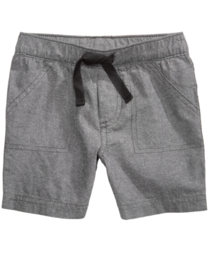 First Impressions Woven Cotton Shorts Baby Boys Created for Macys