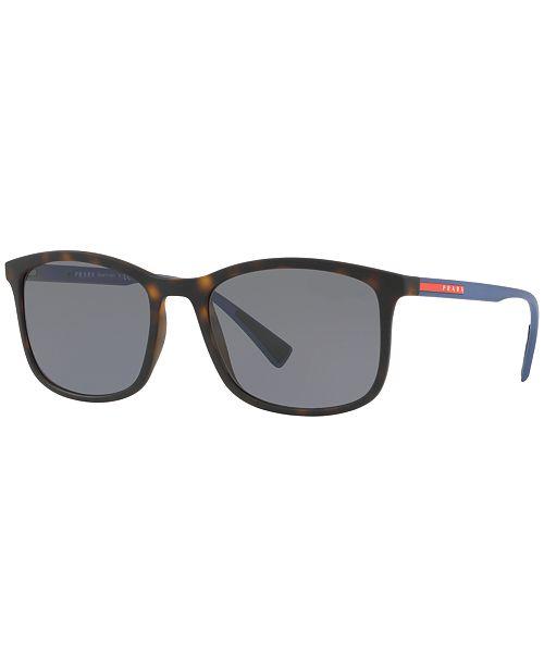 341b25277 Prada Linea Rossa Polarized Sunglasses , PS 01TS & Reviews ...