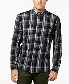 Volcom Men's Cranmore Plaid Flannel Shirt
