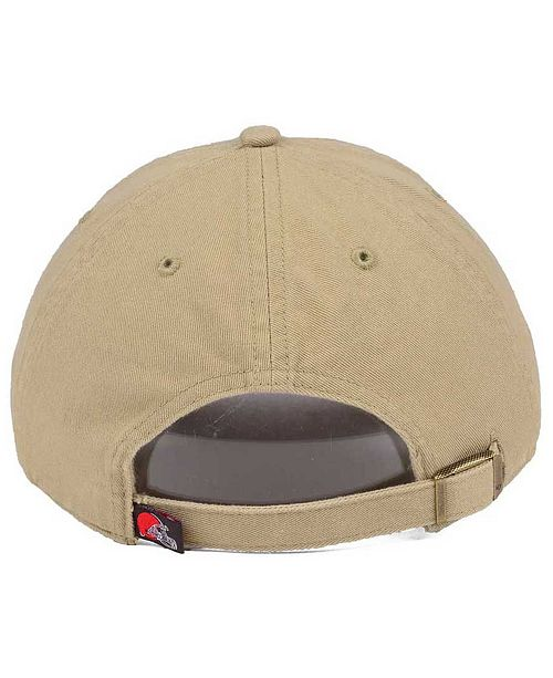 sneakers for cheap 490a9 24a67 ... promo code for 47 brand cleveland browns khaki clean up cap 954ba e9fef