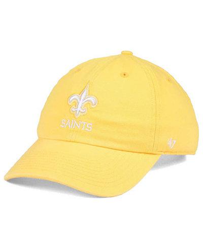 '47 Brand Women's New Orleans Saints Pastel CLEAN UP Cap