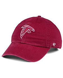 '47 Brand Atlanta Falcons Cardinal CLEAN UP Cap