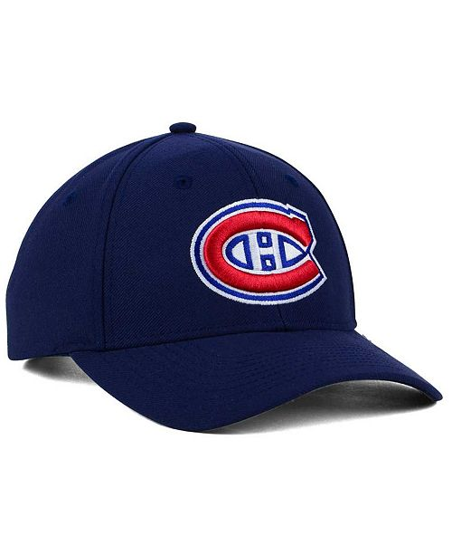 adidas Montreal Canadiens Core Basic Adjustable Snapback Cap