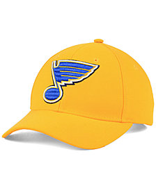 adidas St. Louis Blues Core Basic Adjustable Snapback Cap