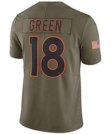 Nike Men's A. J. Green Cincinnati Bengals Salute To Service Jersey