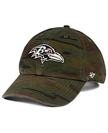 '47 Brand Baltimore Ravens Regiment CLEAN UP Cap