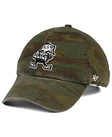 '47 Brand Cleveland Browns Regiment CLEAN UP Cap
