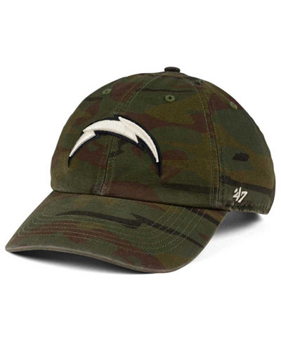 '47 Brand Los Angeles Chargers Regiment CLEAN UP Cap