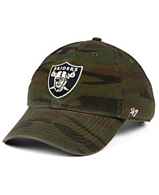 '47 Brand Oakland Raiders Regiment CLEAN UP Cap