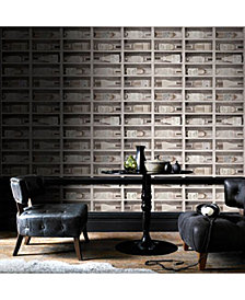 Graham & Brown Fresco Wine Bottles Wallpaper