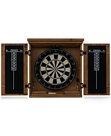 Gateway Dart Board Cabinet Set, Quick Ship