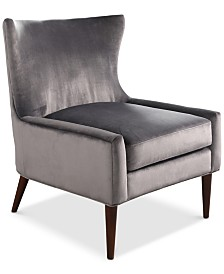 Shayna Wingback Chair, Quick Ship