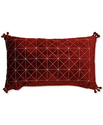 CLOSEOUT Hallmart Collectibles Jewel Tone 40 X 40 Embroidered Gorgeous Jewel Tone Decorative Pillows