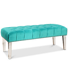 Gardina Velvet Bench, Quick Ship