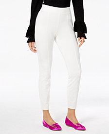 Thalia Sodi Front-Seam Skinny Pants, Created for Macy's