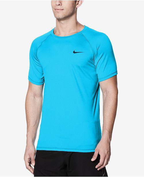 6c75ee696 Nike Men's Hydroguard Swim Shirt & Reviews - T-Shirts - Men - Macy's