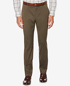 Perry Ellis Men's Classic-Fit Textured Pants