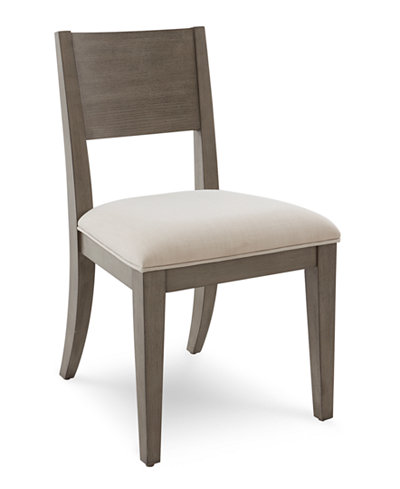 Tribeca Grey Side Chair, Created for Macy's