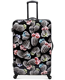 """Cactus Printed 29"""" Hardside Spinner Suitcase"""