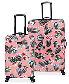 Jessica Simpson Cactus Hardside Luggage Collection
