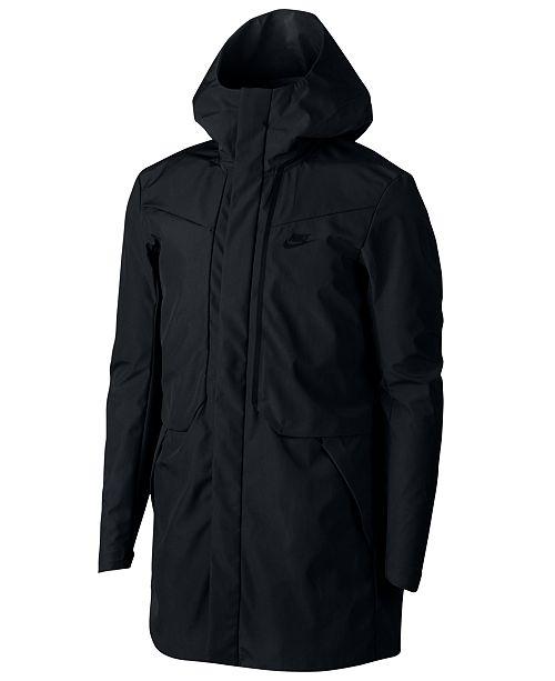cb2d2ffd2603 Nike Men s Sportswear Tech Shield Jacket   Reviews - Coats   Jackets ...