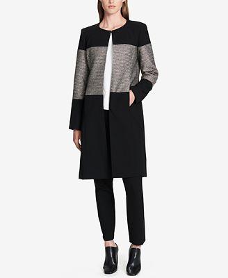 Calvin Klein Metallic Colorblocked Topper Jacket
